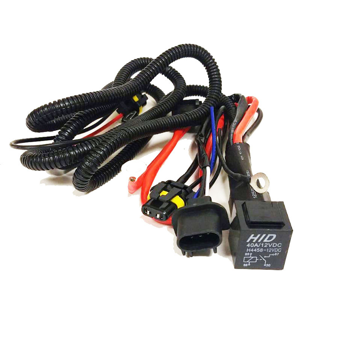 HID Xenon Wire Relay Harness H13 9008 - GENSSI