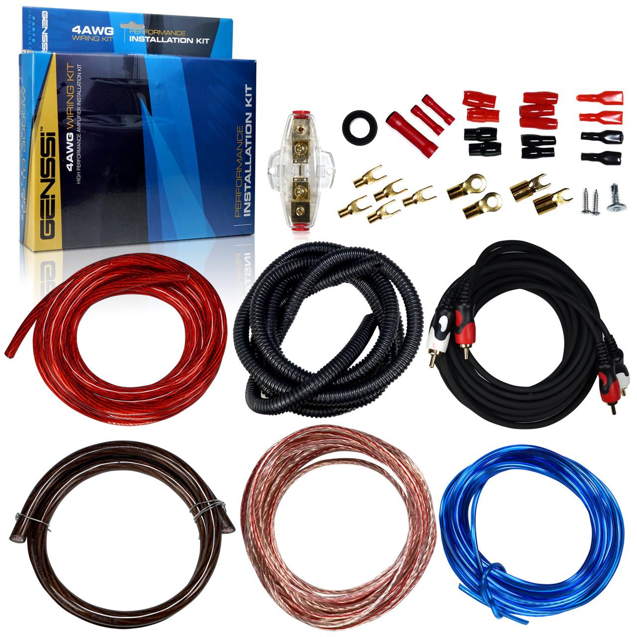 4 Gauge Wiring Kit Car Audio Wiring Diagram Show
