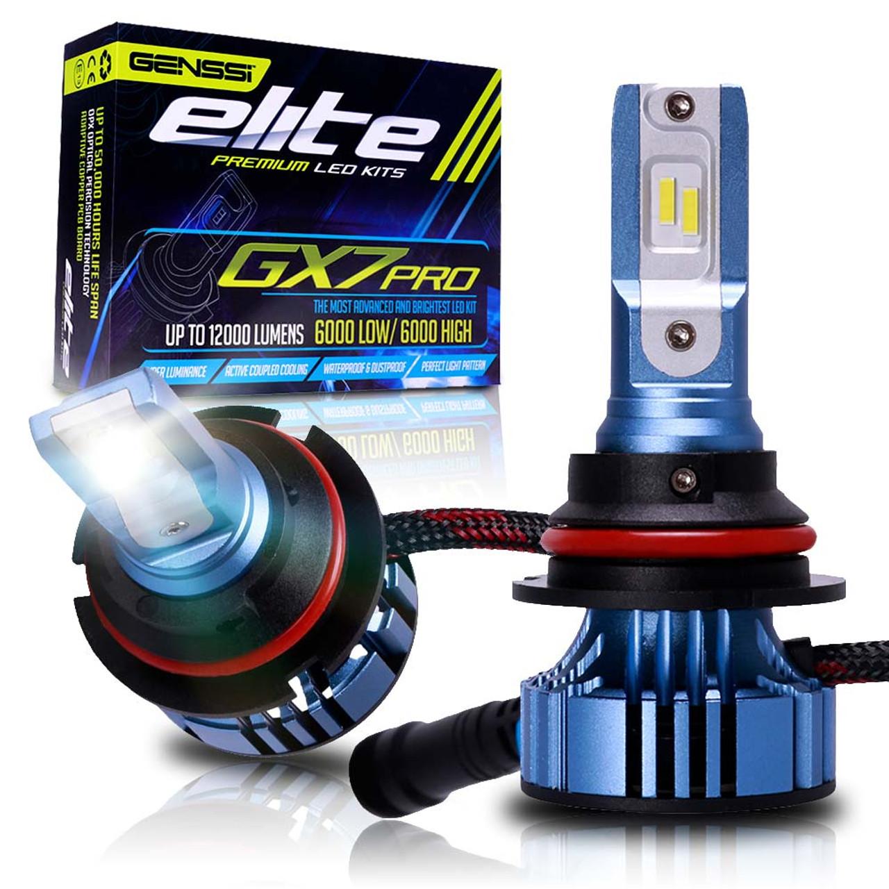 Gx7 Pro Led Headlight Conversion Kit 6500k Bulbs Genssi Light Bar Wiring Diagram