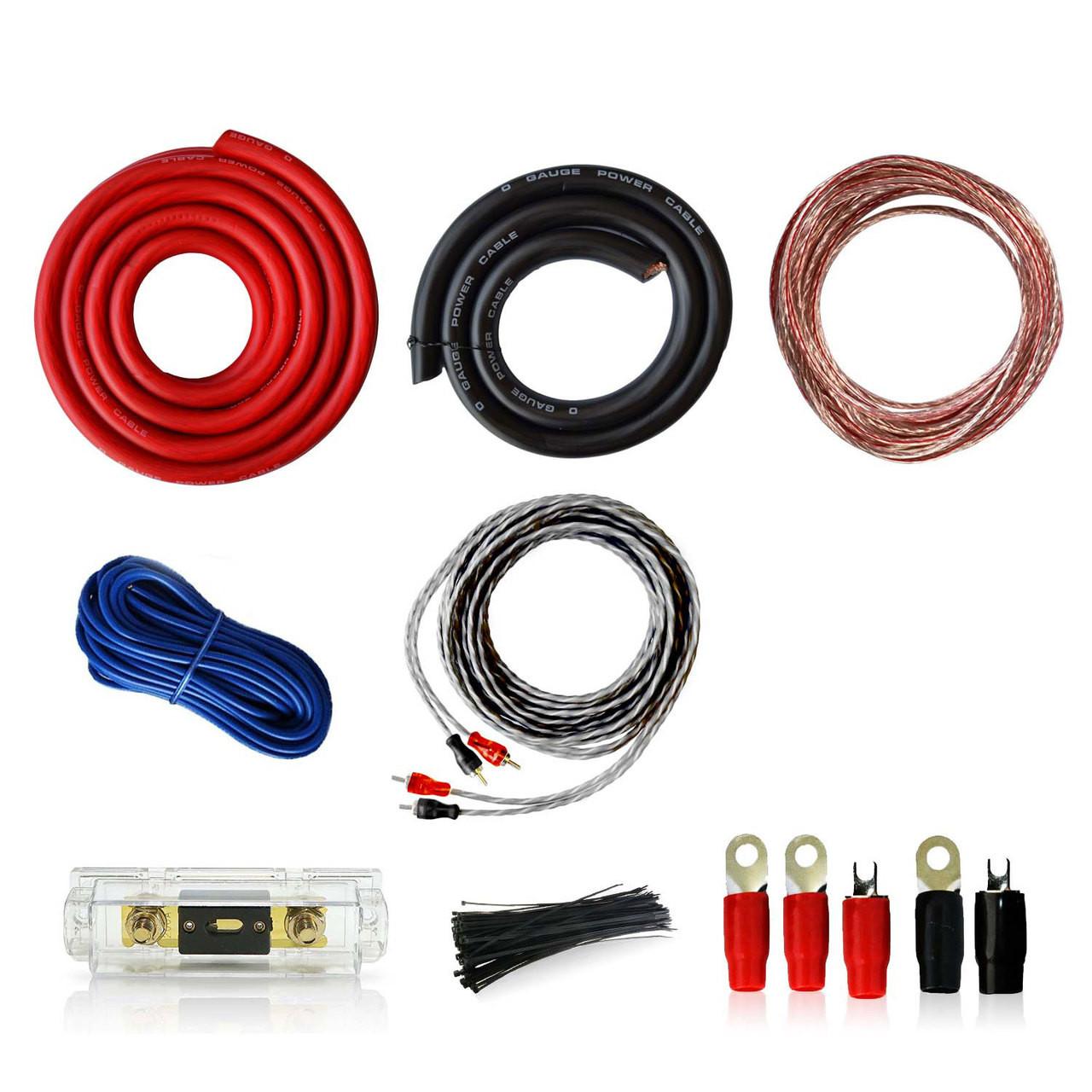 Awesome 0Awg Car Audio Installation Wiring Kit 0 1 Gauge Genssi Wiring Database Mangnorabwedabyuccorg