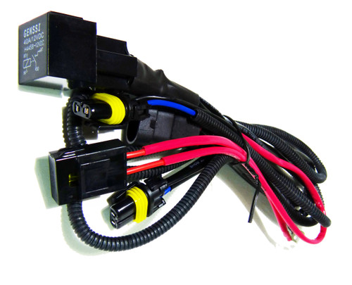 HID Xenon Wire Relay Harness 9006 9005 H10 9145 9055 9012 ... on