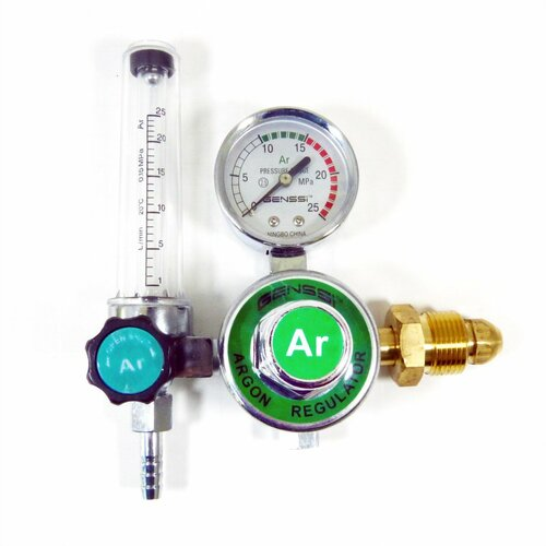 Argon Regulator CO2 Mig Tig Flowmeter Gas Welding Gauge