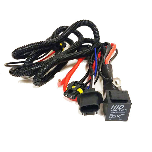 HID Kits - Wiring & Harness - GENSSI H K Hid Ballast Wiring Diagram on