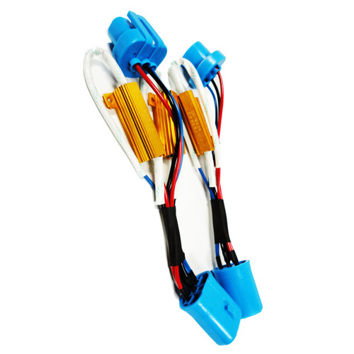 9007 Flicker Harness Pair