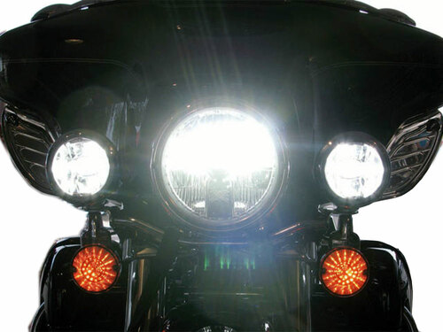 G7 Elite LED Motorcycle Headlight Conversion Kit 6000K H4 9003 Bulb