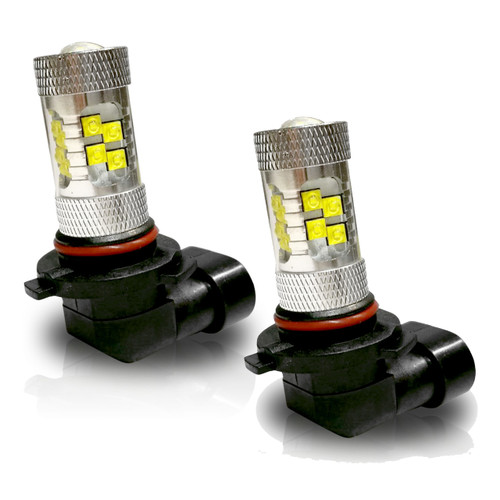 9005 HB3 100W LED Headlight DRL Lamp Bulbs (2 Pack)