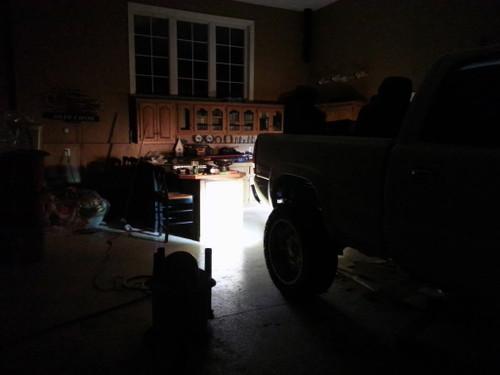 20W Bumper Bar Duely Flood POD LED Light Black