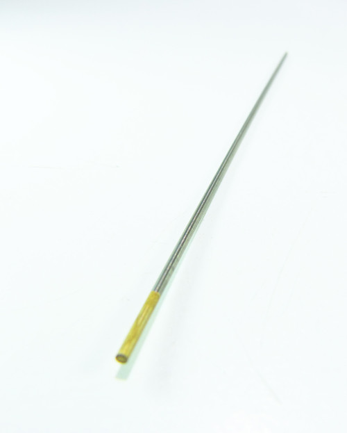 1.5% Gold Lanthanated Tungsten TIG Electrodes 1/16 7 1.6mm 175mm