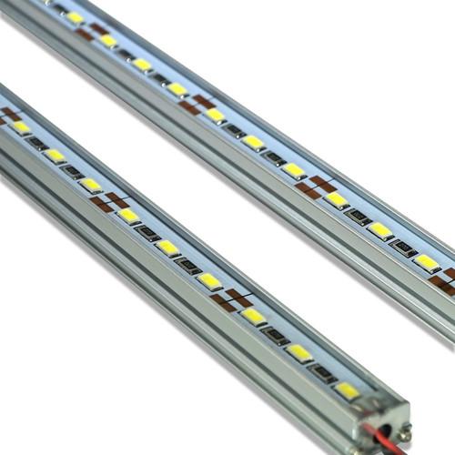 LED Tube Strip 50cm Aluminum Waterproof (2 Pack)