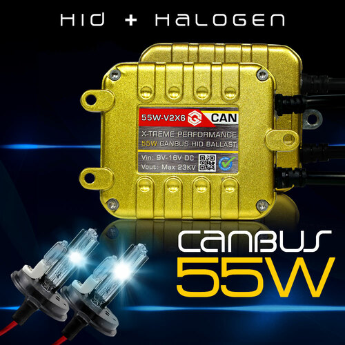HID Kit Conversion X6 GOLD CANBUS Performance Xenon AC 55W