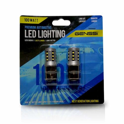 BA20D H6 100W LED Headlight Bulbs (2 Pack)