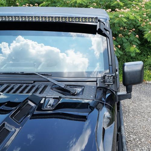 3D LED Light Bar Combo Kit for Jeep Wrangler JK 2007-2018