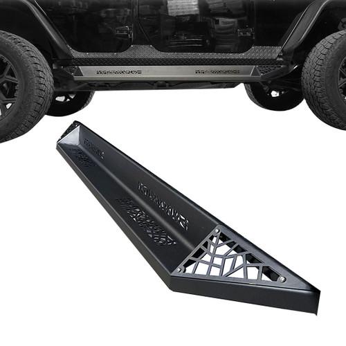 AGGRESSOR Side Steps Rock Sliders for Jeep Wrangler 2dr 2007-2018