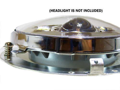 7 Inch Headlight Bezel Ring For Motorcycles