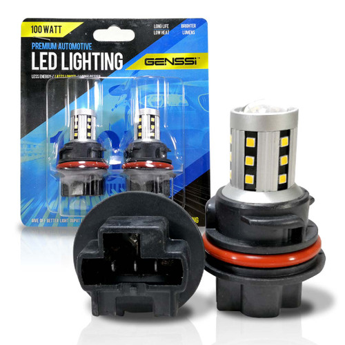LED Replacement Bulbs Headlight Compatible with Suzuki QuadSport QuadRacer LT-R450 LT-Z400 LT-Z250 09471-12217