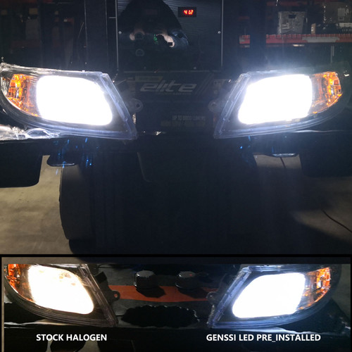 LED Pro Headlight Headlamp Pair for International 4100 4200 4300 4400 8500 8600