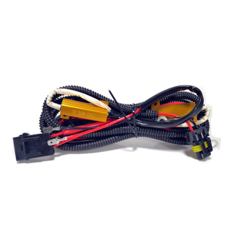 H1 H3 H7 50W Relay Wiring Harness HID Kit Canbus Bulb Error Solution