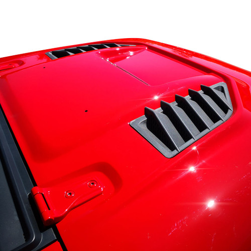 MPR Style ABS Vents Hood for Jeep Wrangler JL JLU JT 2018 up
