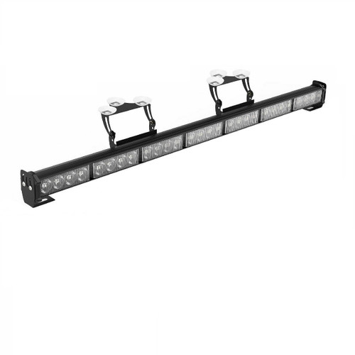 "31"" Inch 28 LED Emergency Warning Flash Strobe Light Bar"