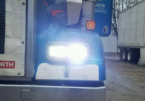 4x6 LED Reflector w/DRL Headlights Chrome Set