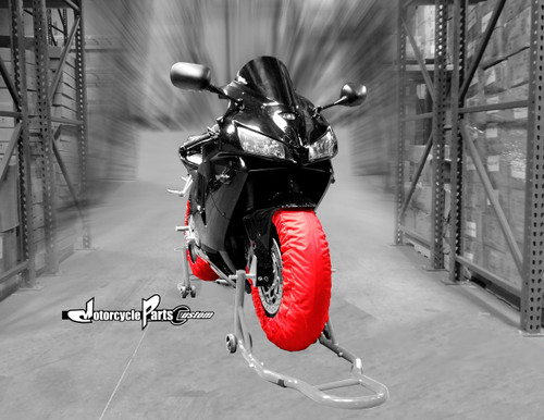 Motorcycle Tire  Tyre Warmer Racing Track Day 110-120 Front / 150-160 Rear