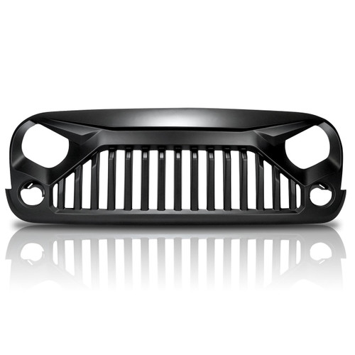 Gladiator ABS Aggressive Style Grille For Jeep Wrangler JK 2007-2017