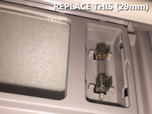 29mm 6614F LED Festoon Vanity Visor Bulbs (2 Pack)