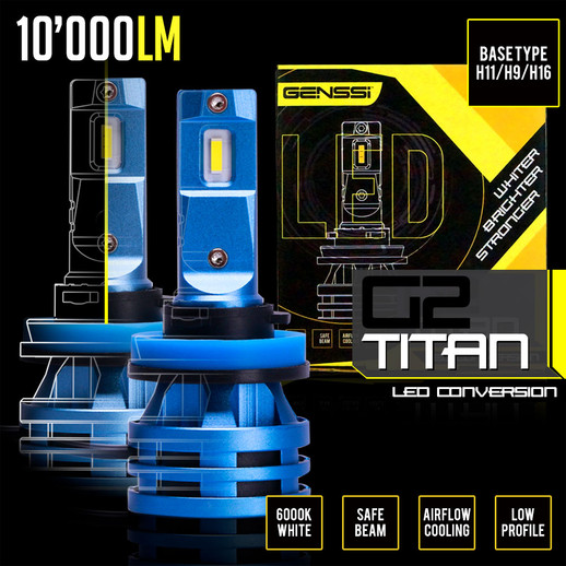 New! G2 Titan LED Conversion Kit with Integrated Driver