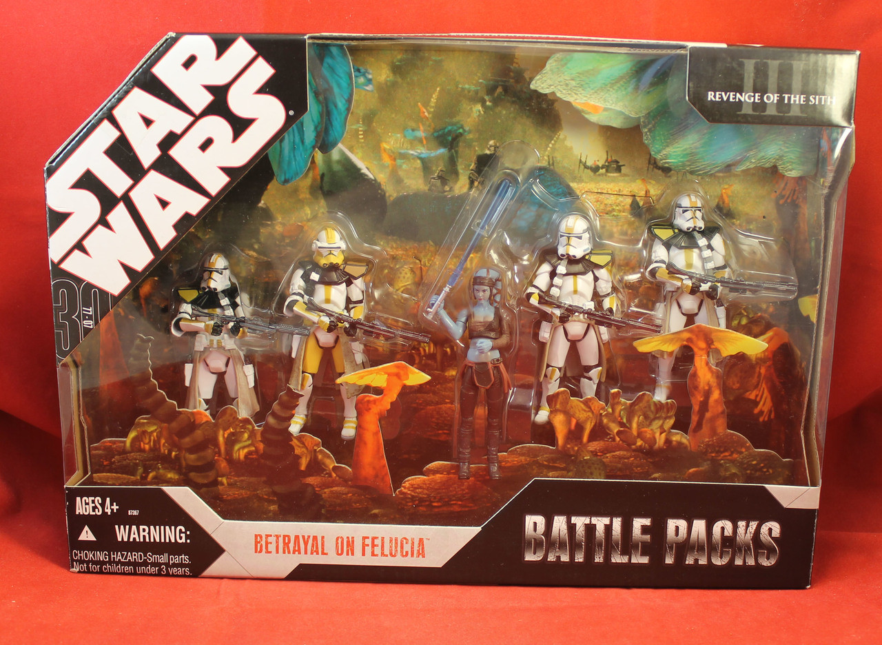 Star Wars Tac 30th Anniversary Collection Battle Packs Betrayal On Felucia Comic Castle