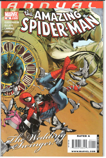 8.0 SPIDERMAN DEADPOOL #36 MARVEL COMICS SEPTEMBER 2018 VF