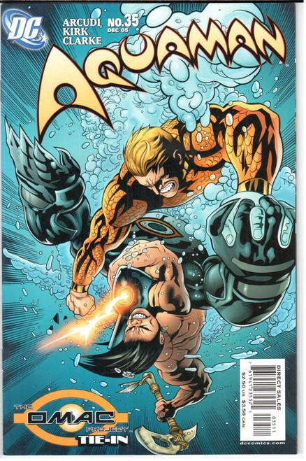 Aquaman 9.2 2003 Series #46 December 2006 DC NM