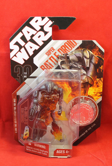 Star Wars Super Battle Droid Action Figure 30 77-07 Hasbro #08 New 2006