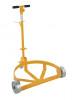 Vestil Lo-Profile Drum Caddy with Steel Wheels