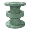 Emco Wheaton D2000 4 in. Style 20 Carbon Steel Swivel Joint w/ Standard Temp. Bearings, 150# Flanged Connections & Viton Seal - 13.2 in.