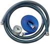 Kuriyama PVC Water Suction & Discharge Hose w/Strainer & Pin Lugs - 6 in.