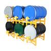 Vestil Steel 3 Drum Rack
