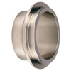 Dixon Sanitary 14WI Series 1-1/2 in. Male I-Line Short Weld Ferrules - 316L SS - 316L Stainless Steel - 1 1/2 in.