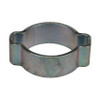 Dixon 13/16 in. Zinc Plated Steel Pinch-On Double Ear Clamp - 100 QTY