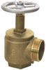 Dixon Global 2 1/2 in. NPT x 2 1/2 in. NH (NST) Brass Angle Hose Valve