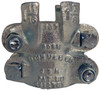 Dixon Boss 212 Clamp 1 1/2 in. Hose ID Zinc Plated Iron 4-Bolt and 4 Finger