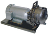 Banjo 2 in. Polypropylene Centrifugal Pumps w/ Viton Elastomers - 5 HP Single Phase