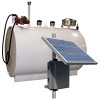 Double Wall 550 Gallon Skid Tank w/ 15 GPM Solar Powered Pump Package