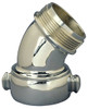 Dixon 90° Chromed Brass Angle And Suction Elbow