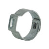 Dixon 3/8 in. Zinc Plated Steel Pinch-On Single Ear Clamp - 100 QTY