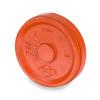 Smith Cooper 3 in. Grooved Cap - Orange Paint Coating