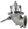 Civacon 5 in. x 4 in. Flanged Elbow Mechanical High Flow Emergency Valve w/ Tef-Sil Seal