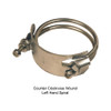 Dixon 5 in. Counter Clockwise (Left Hand) Spiral Clamp