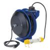 Coxreels Power Cord Reel w/ Light - 16 GA. - 35 ft. - Fluorescent Tube