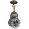 Betts 3 in. Gate Valve - TTMA Flange x TTMA Flange - Aluminum Body, Stainless Stem