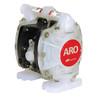 ARO 1/4 in. Polypropylene Non-Metallic Air Diaphragm Pump w/ Santoprene Diaphragm